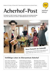 Acherhof-Post Nr. 23   19. Februar 2021