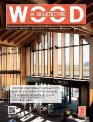 Wood In Architecture Issue 1, 2020