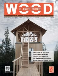 Wood In Architecture Issue 2, 2020