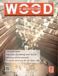 Wood In Architecture Issue 1, 2019