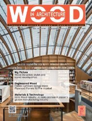 Wood In Architecture Issue 2, 2019