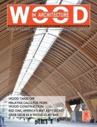 Wood In Architecture Issue 1, 2018
