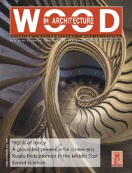 Wood In Architecture Issue 2, 2018