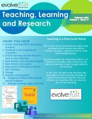 Spring 1 2021 Teaching and Learning Newsletter
