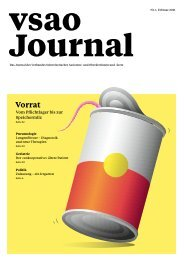 vsao JOURNAL Nr. 1 - Februar 2021
