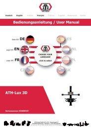 ATH-Heinl Bedienungsanleitung ATH-Lux 3D