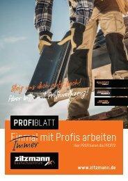 PROFIblatt - Hier PROFItieren die PROFIS! 02-21