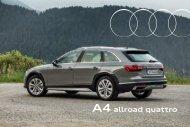 Audi A4 allroad Verkaufsunterlagen