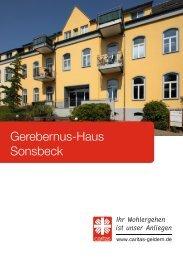 Gerebernus-Haus Sonsbeck