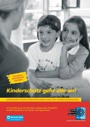 Kinderschutz geht alle an! - WEISSER RING eV