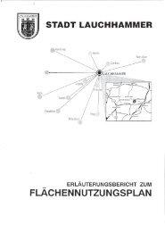 flächennutzungsplan - Stadt Lauchhammer