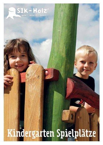 Kindergarten Spielplätze - SIK-Holz