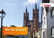 Kirdorf Kommunalwahl 2021