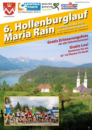 6. Hollenburglauf Maria Rain - Carinthia Sports