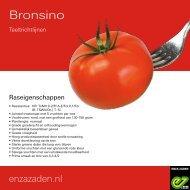 Teeltrichtlijnen Bronsino