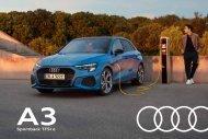 Audi A3 Sportback TFSIe Verkaufsunterlagen
