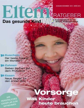 Vorsorge - Eltern.de