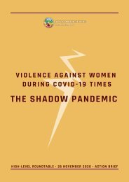 Shadow Pandemic Action Brief