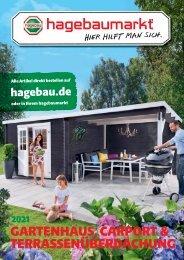 Gartenhaus, Carport & Terrassenüberdachung 2021