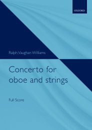 Vaughan Williams - Concerto for oboe and strings