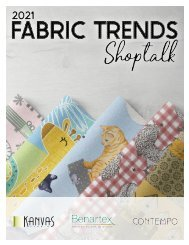 2021 Fabric Trends Shoptalk - March Edition