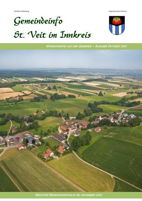 Veranstaltungskalender - Gemeinde St. Veit/Innkreis