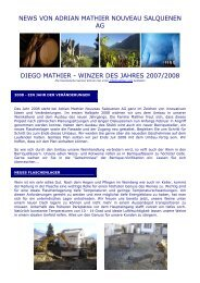 Newsletter 2008 1 - Mathier