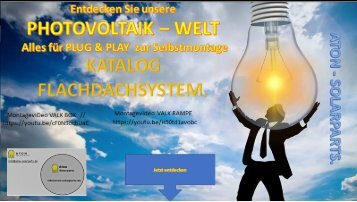 ATON SOLARPARTS FLACHDACHSYSTEM -PLUG  & PLAY im SET