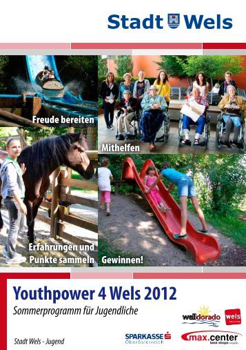 Youthpower 4 Wels 2012 (3 MB) - Stadt Wels