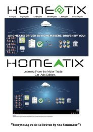 Homeatix learning from the Motortrade edition