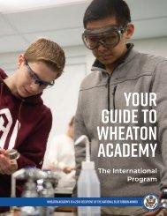 Wheaton Academy International Program Booklet