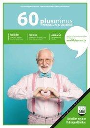 60plusminus Thüringen, Ausgabe Frühling 2021