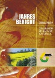 Jahresbericht 2001/2002 - nova-Institut GmbH
