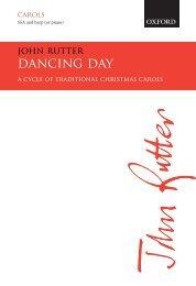 John Rutter Dancing Day