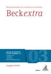 BeckExtra 03/2021