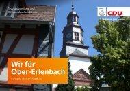 Ober-Erlenbach Kommunalwahl 2021