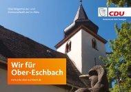 Ober-Eschbach Kommunalwahl 2021