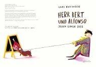 Leseprobe: Herr Bert und Alfonso jagen einen Dieb