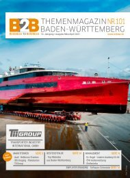 TRANSPORTER INDUSTRY INTERNATIONAL GMBH| B2B Themenmagazin NR 101