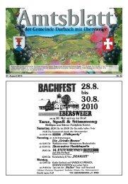 Sommer- abendhock - Durbach