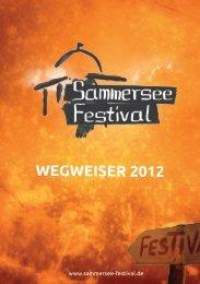 WegWeiser 2012 - Sammersee-Festival