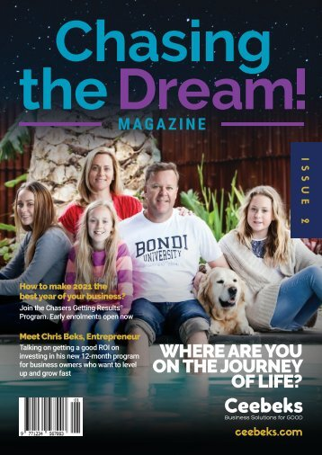 Chasing The Dream! Magazine - Issue 2