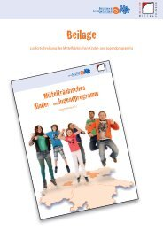 Kontakte - Jugendarbeit in Mittelfranken