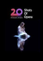 20 Shots of Opera Press Book 2021
