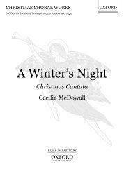 Cecilia McDowall A Winter's Night