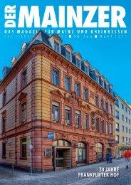 DER MAINZER - Das Magazin für Mainz und Rheinhessen - Nr. 366