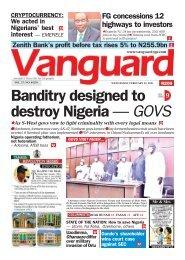 24022021 - Banditry designed to 9 destroy Nigeria — GOVS