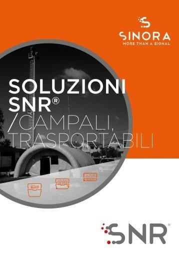 Sinora - Prodotti SNR - Trasportabili