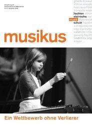 Musikus 43 - Musikschule Liechtenstein