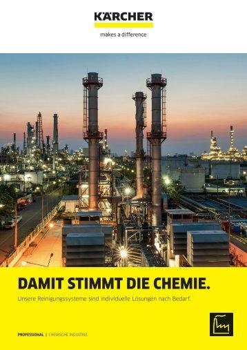 DAMIT STIMMT DIE CHEMIE.